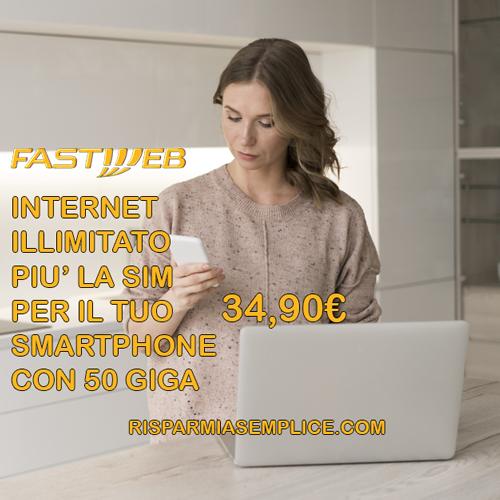 Fastweb Casa + Mobile - RisparmiaSemplice